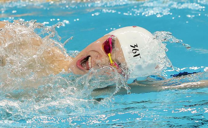 中国游泳运动员孙杨因毁坏血样尿样检测样本遭到8年禁赛。图为2020年1月19日,孙杨在国家奥林匹克运动中心参加国际男子400米自由泳决赛。(图片来源:Lintao Zhang/Getty Images)