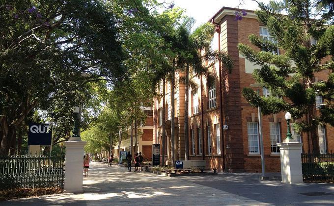 昆士兰科技大学也录得首例学生感染病例。(图片来源:公有领域Attribution-Share Alike 4.0 International license)