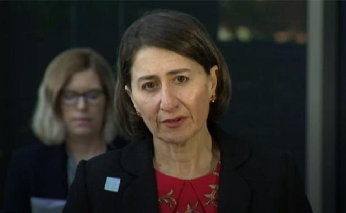 新州州长Gladys Berejiklian敦促人们在新州放松限制后,能够以负责任的态度行事。(摄影:Yina)