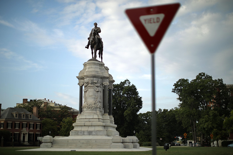 李将军(Robert E. Lee)雕像