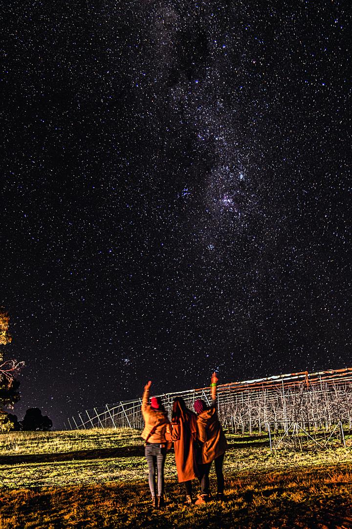 观星空璀璨、享澳式浪漫