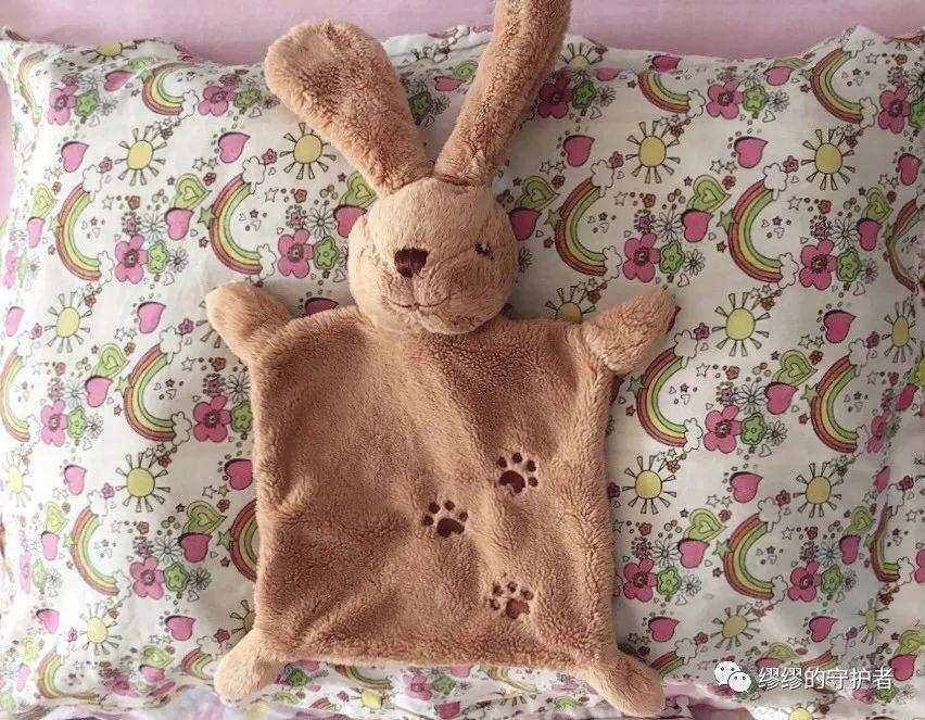 缪缪的枕头和兔子