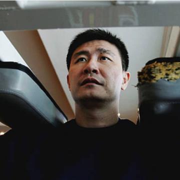 中国足球名将郝海东(图片来源:Guang Niu/Getty Images)