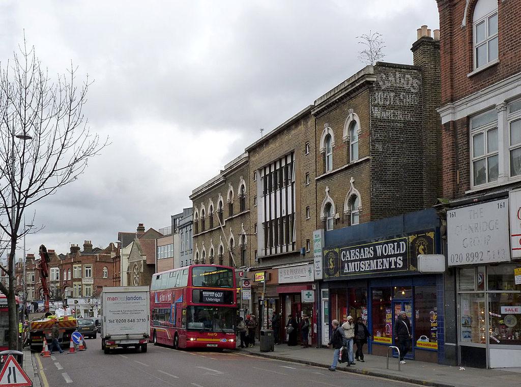 伦敦,W3,高街