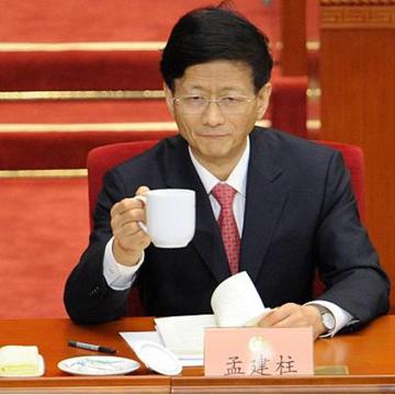 中央政法委前书记孟建柱(图片来源:WANG ZHAO/AFP via Getty Images)